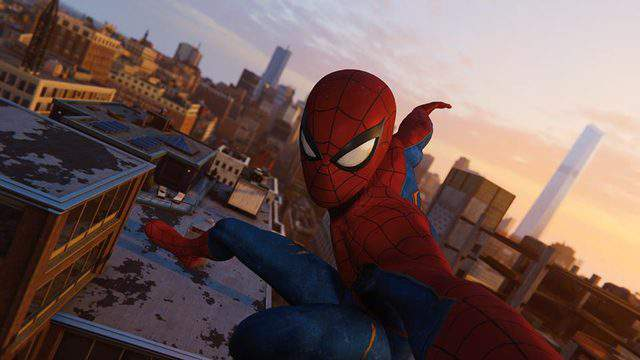 Yeah, I took a selfie mid-web-swing. No big deal.
