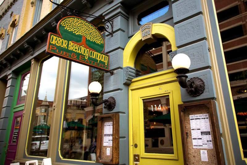 Arbor Brewing Company's original brewpub in downtown Ann Arbor.