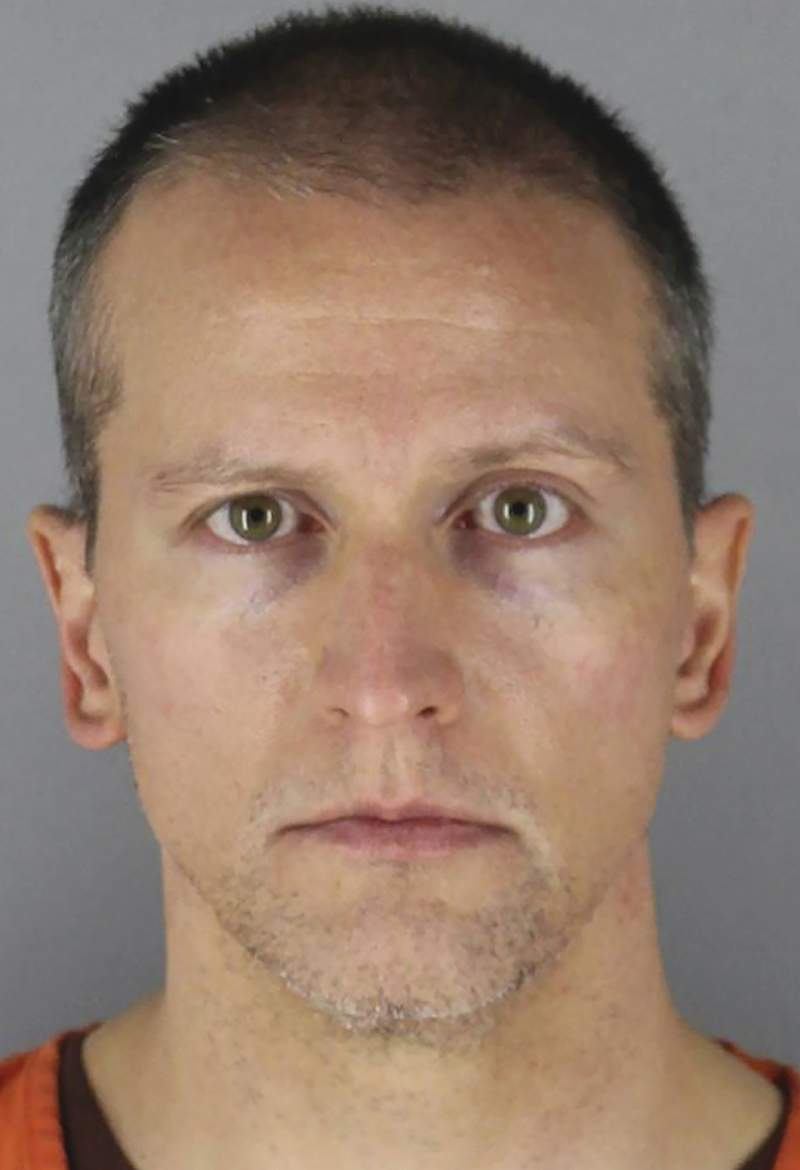FILE - This undated photo provided by the Hennepin County Sheriff's Office in Minnesota on June 3, 2020, shows, former Minneapolis police officer Derek Chauvin.  The huge task for jurors at the trial of Chauvin, charged in the death of George Floyd, showed during jury selection as some would-be jurors said they were unnerved by the very thought of being on the panel. Bystander video of the confrontation is expected to be a key exhibit at trial, with opening statements set for Monday, March 29, 2021.  (Hennepin County Sheriff's Office via AP, File)