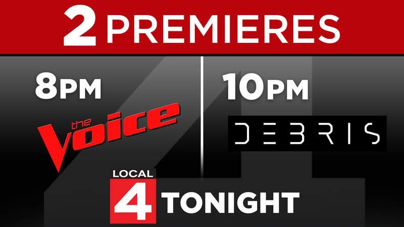 Premieres: The Voice & Debris