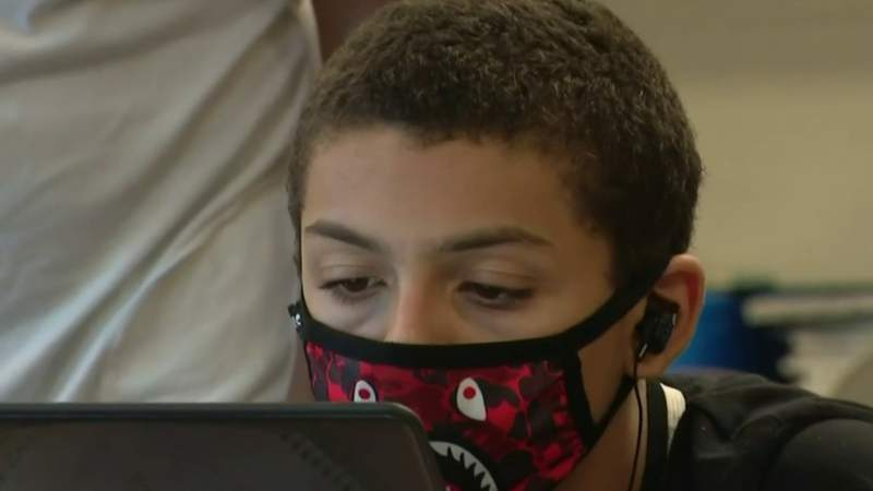 Exclusive tour of Detroit schools during the pandemic