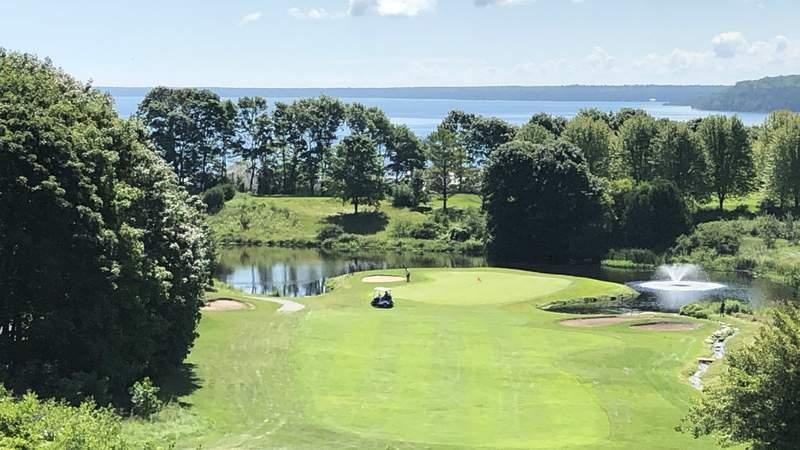The Jewel Golf Course on Mackinac Island.