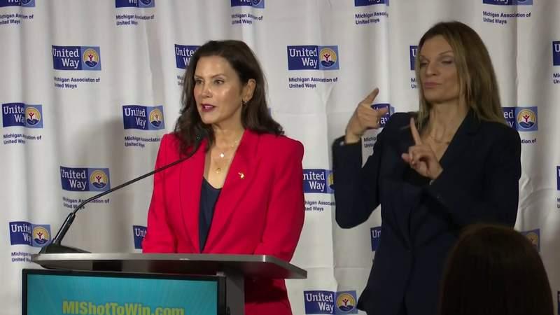 "Michigan Gov. Gretchen Whitmer breaks down the ""MI Shot To Win Sweepstakes."""