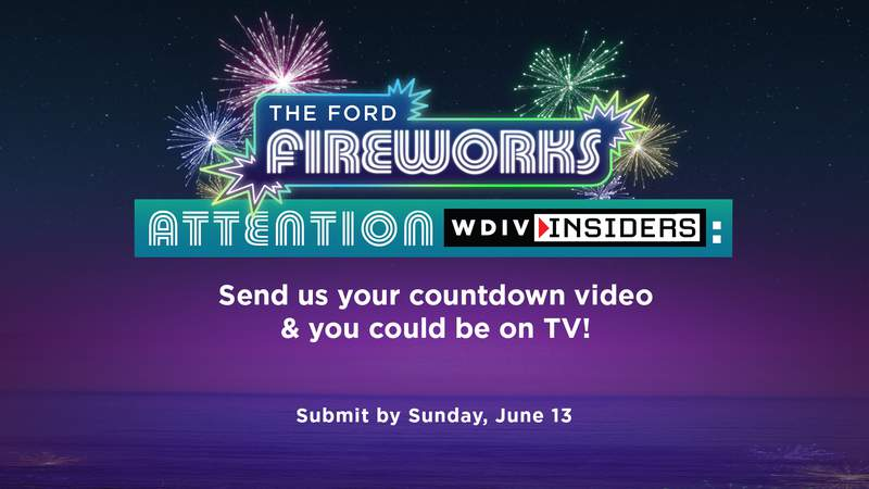 Fireworks Countdown for Insiders