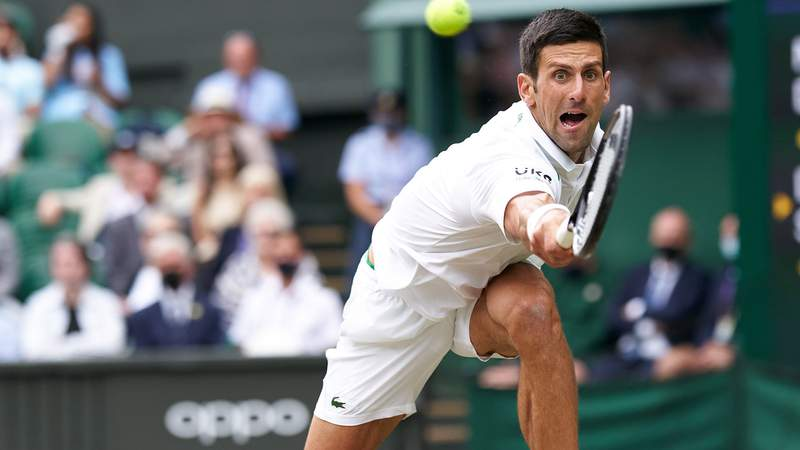 World No. 1 Novak Djokovic headlines the men's tennis competition at the Tokyo Olympic Games.