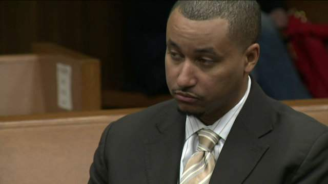 Former Sen. Virgil Smith in court on March 28, 2016. (WDIV)