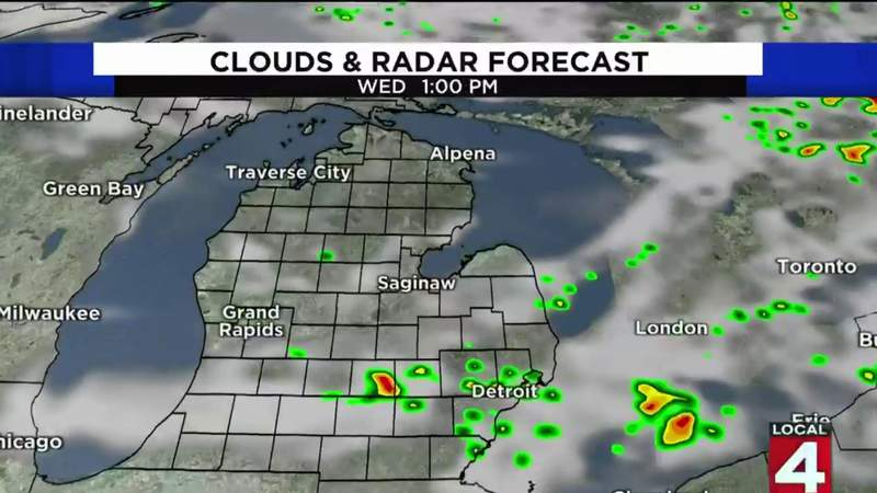 Metro Detroit weather forecast for July 29, 2020 -- morning update