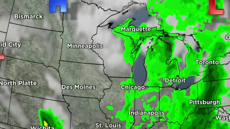 Metro Detroit weather forecast for May 6, 2021 -- 11 p.m. Update