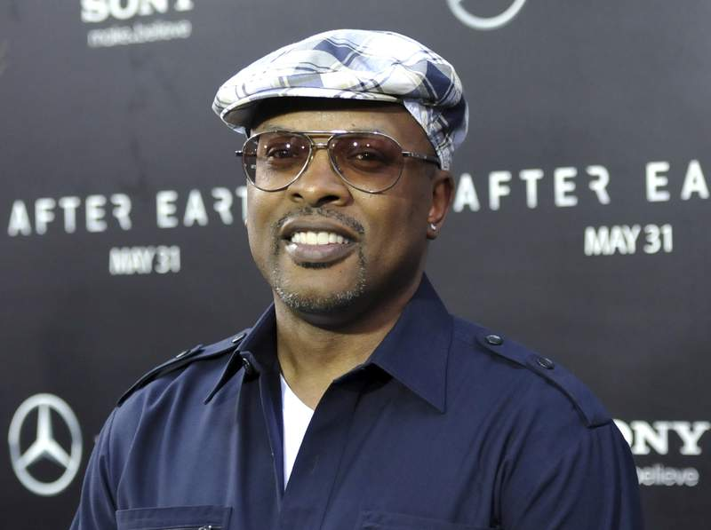 """FILE - In this May 29, 2013 file photo, Jeffrey A. Townes aka DJ Jazzy Jeff attends the """"After Earth"""" premiere in New York. DJ Jazzy Jeff thought the popularity of The Fresh Prince of Bel-Air would eventually fizzle out after the show's final episode in 1996. The original cast of The Fresh Prince will reunite for the shows 30th anniversary, which will air on HBO Max around Thanksgiving. (Photo by Evan Agostini/Invision/AP, File)"""