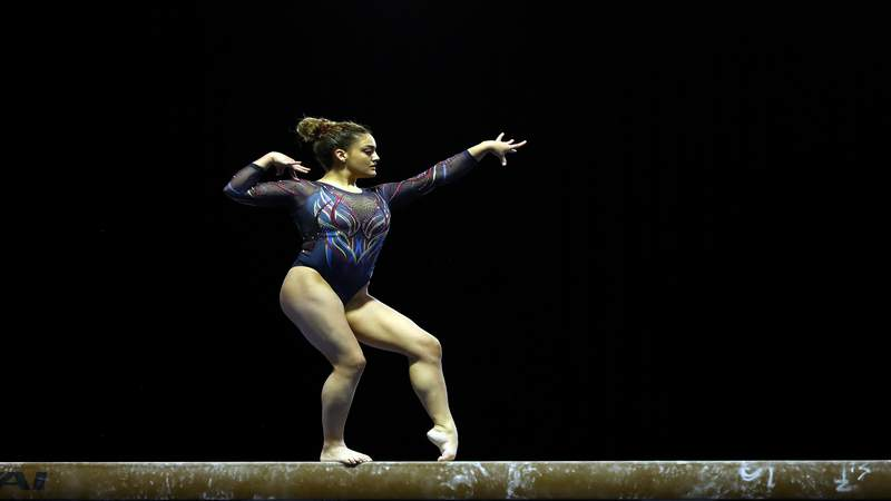 Laurie Hernandez was a member of the gold-medal winning women's gymnastics team in Rio but came up just short of making the 2020 Olympic team.