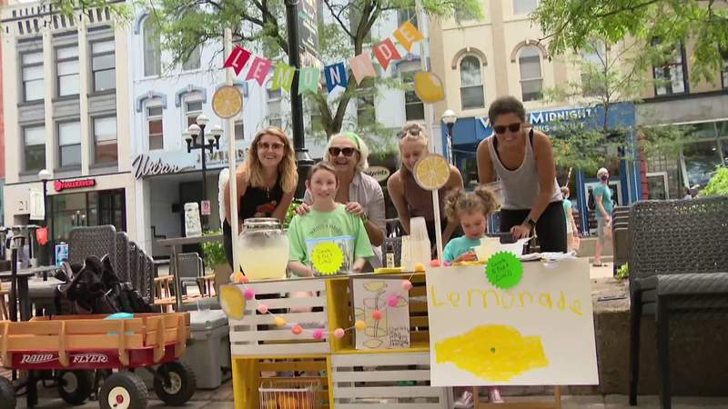 Ann Arbor police officers raise funds for childhood cancer research