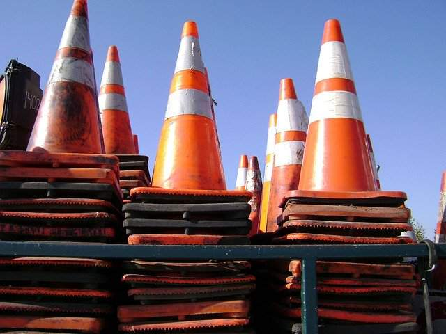Construction will close the Miller Avenue/First Street intersection.