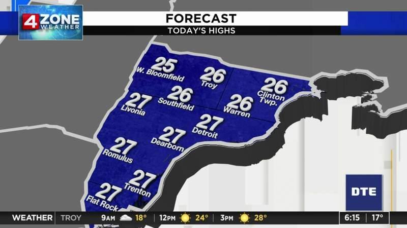 Metro Detroit weather: Sunshine returns Saturday with light snow possible Sunday