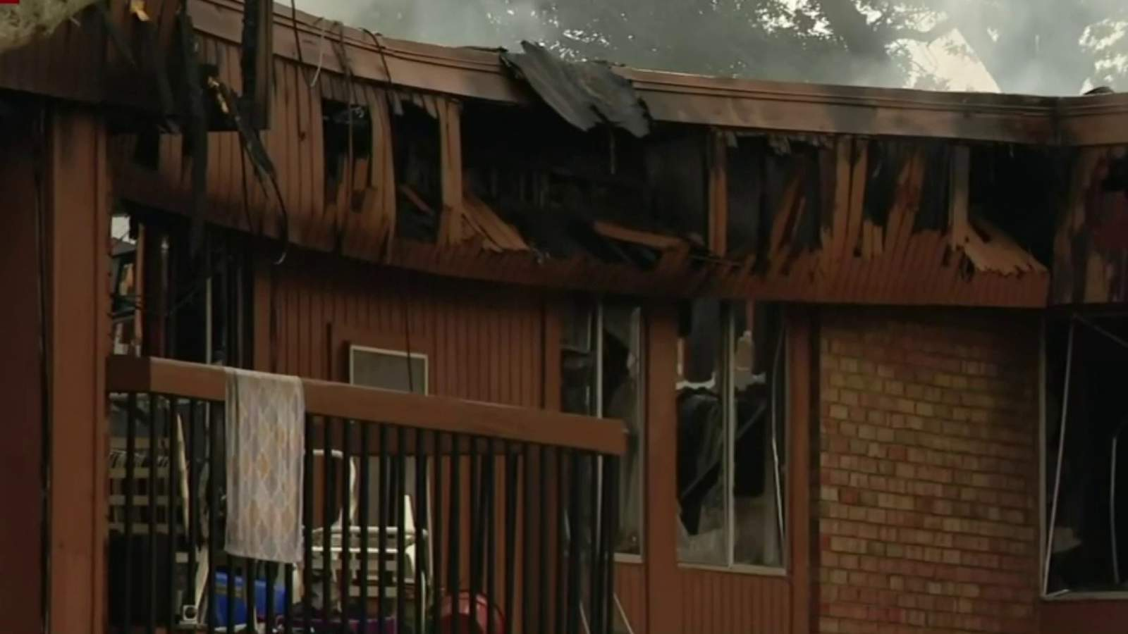Fire damages three buildings at Westland apartment complex