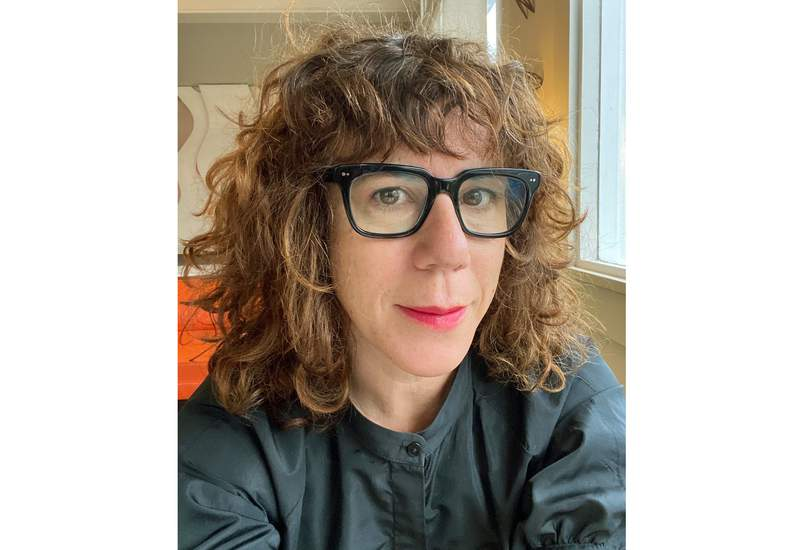 This image released by HarperCollins shows author Jami Attenberg, founder of the 1,000 word challenge, calling for people to write 1,000 words a day for 14 days. The 2021 challenge began May 31 and ends Sunday. (Jami Attenberg via AP)