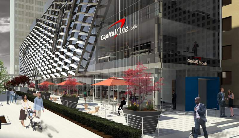 Rendering of the 511 Woodward project