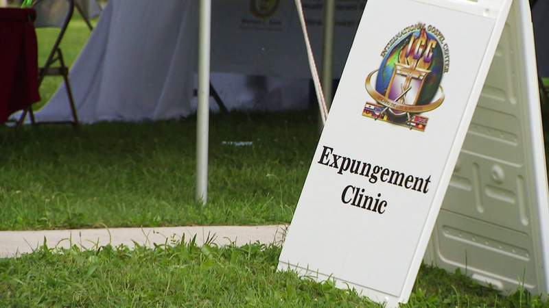 Officials with Wayne County hosted an Expungement Clinic in Ecorse on Aug. 21, 2021.