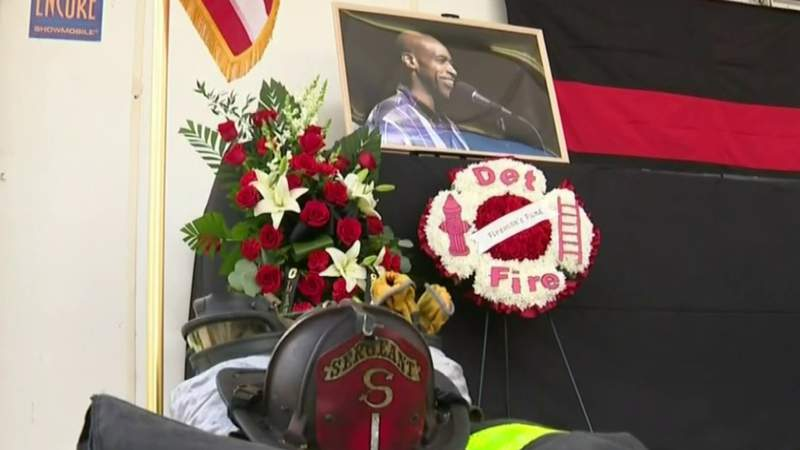 Memorial service honors DFD sergeant who drowned while rescuing children