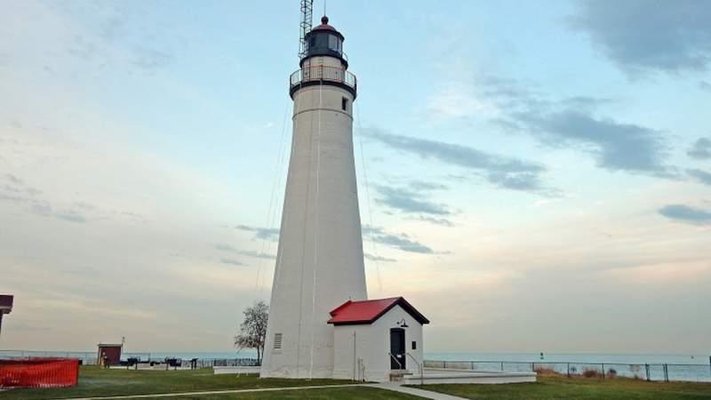Fort Gratiot Lighthouse near Port Huron