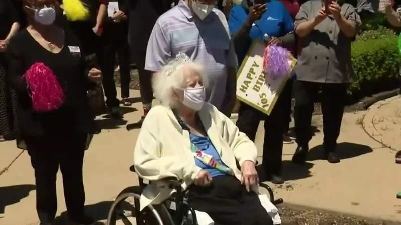 COVID-19 survivor celebrates 105th birthday in West Bloomfield