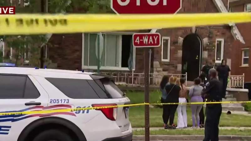 6-month-old baby found alive inside Detroit home with 2 shooting victims