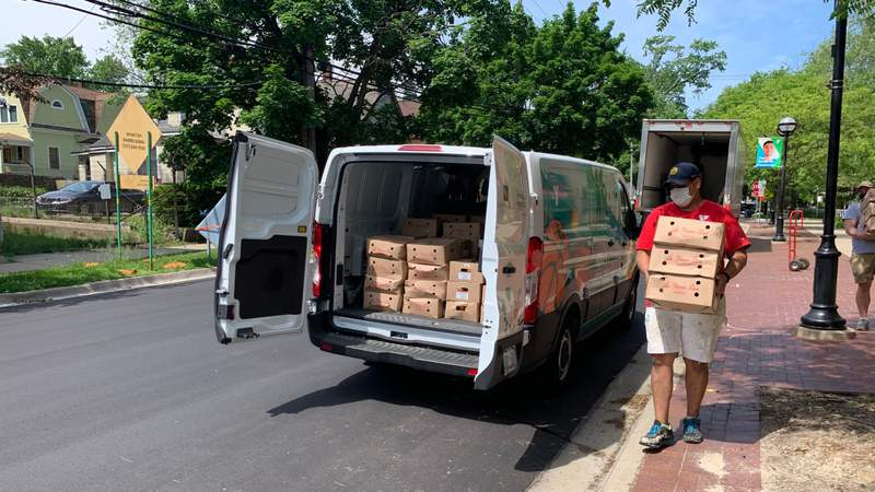 The Ann Arbor YMCA will distribute free produce boxes to neighborhoods in Ann Arbor and Ypsilanti.