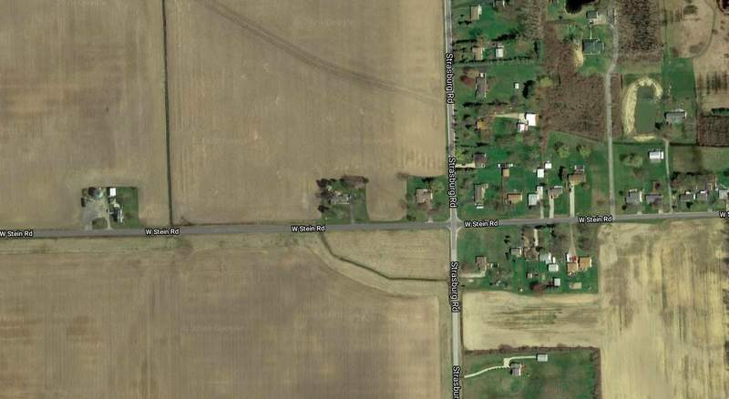The location where Monroe County deputies discovered human skeletal remains on May 24, 2020. PHOTO: Google Earth (Imagery copyright 2020 CNES / Airbus, Landsat / Copernicus, Maxar Technologies, U.S Geological Survey USDA Farm Service Agency, Map data 2020)