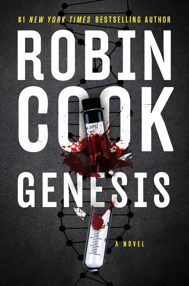 """This cover image released by G.P. Putnam's Sons shows """"Genesis,"""" a novel by Robin Cook. (G.P. Putnam's Sons via AP)"""