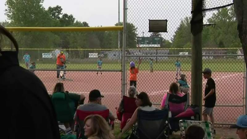 Community cleans up Little League field targeted by vandals