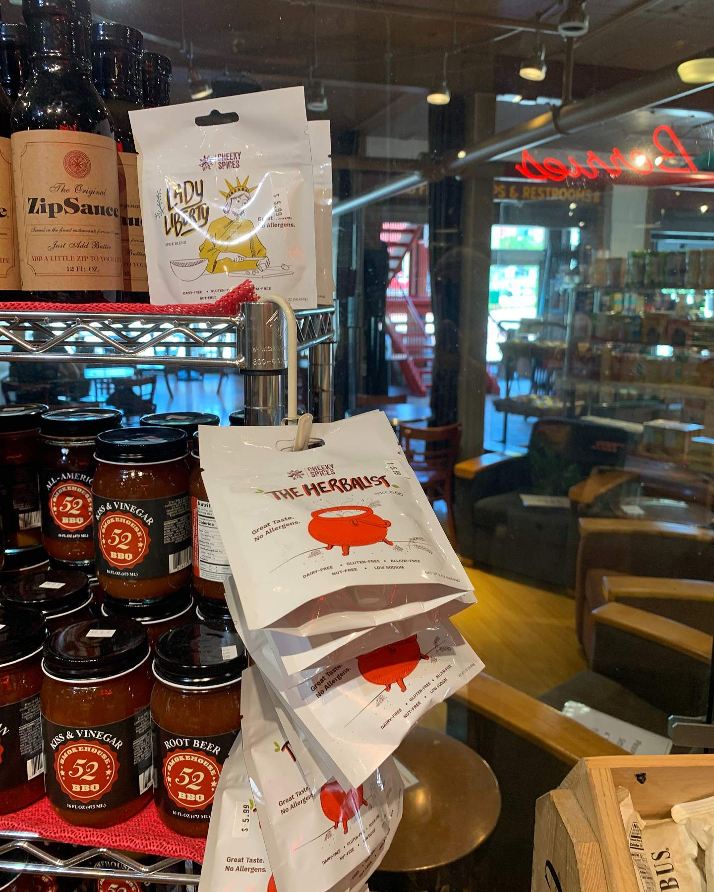 A photo of Cheeky Spices at Sparrow Market in Ann Arbor.