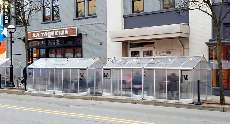 TAQ | Taqueria Restaurant & Bar is at 106 E. Liberty St in Ann Arbor.