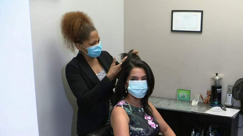 'I can't wait to see all the faces' -- Salons, massage therapy and more to reopen Monday