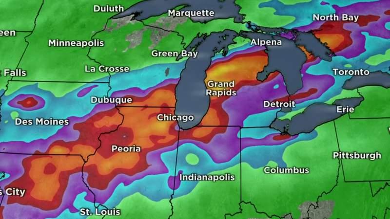 Metro Detroit weather forecast for June 24, 2021 -- 11 p.m. Update