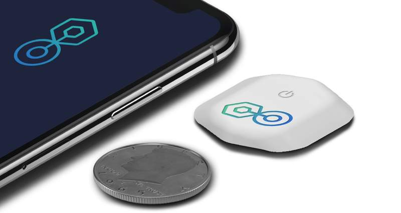 BioIntelliSense's new BioButton for 90-days of continuous wireless temperature and vital signs monitoring on a coin-sized disposable medical device.