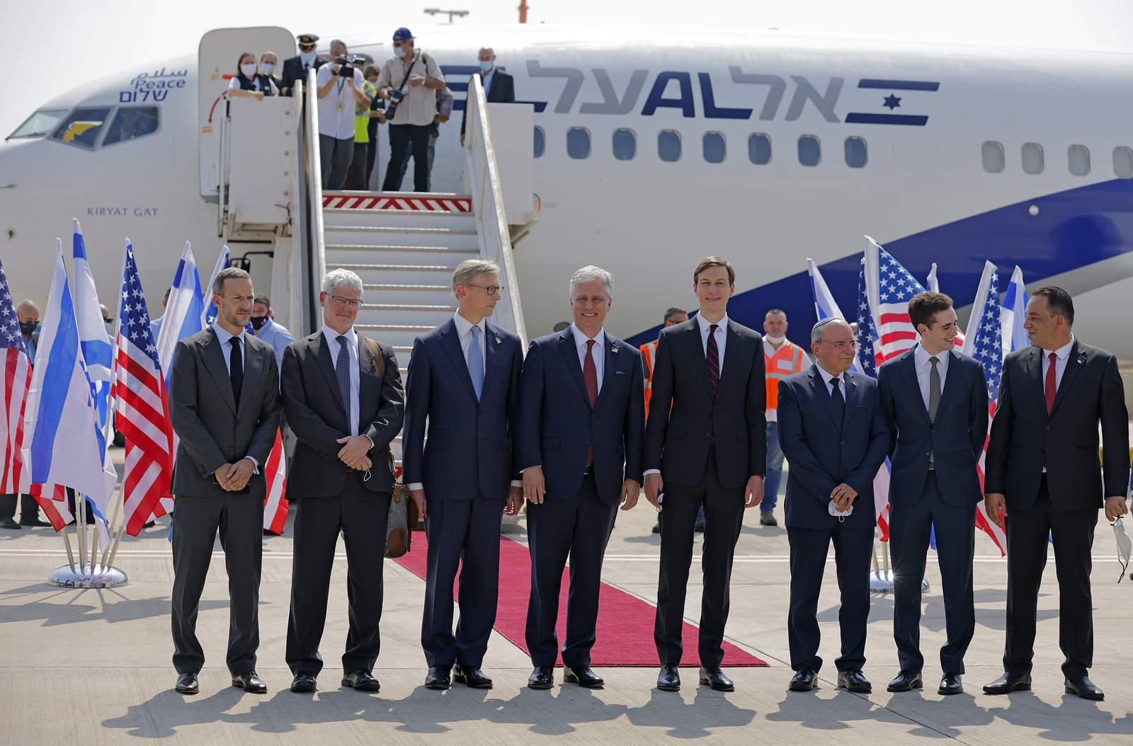 Israeli, US delegations depart to UAE in 1st...