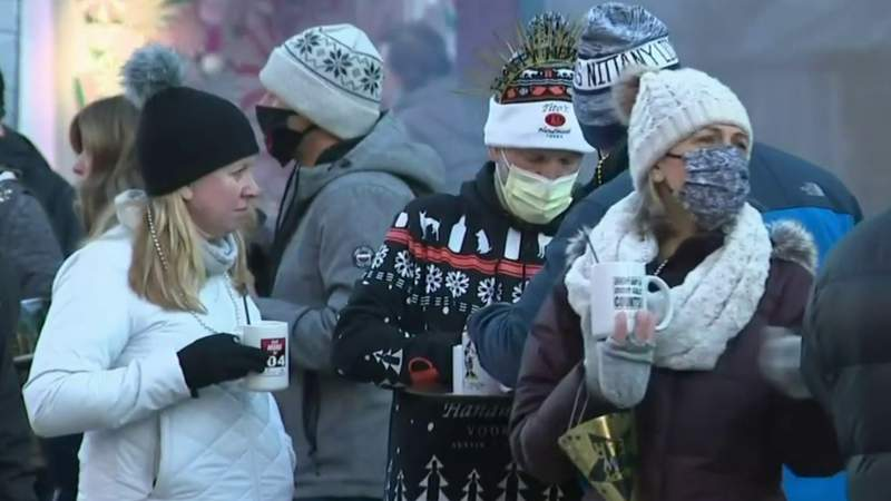 Celebrating New Year's Eve amid COVID-19 restrictions in Northville