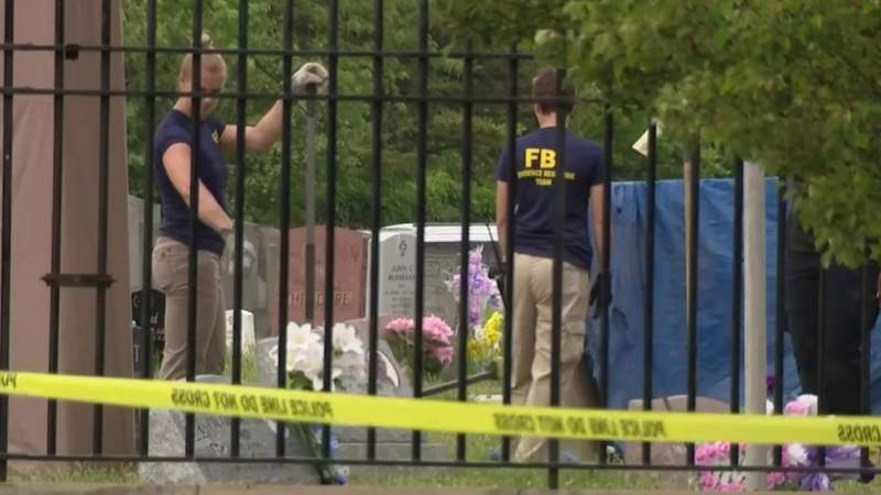 Families demand answers as investigators dig for second day at Detroit's Gethsemane Cemetery