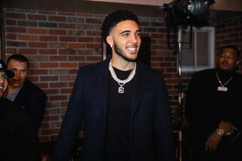 LiAngelo Ball during his 21st Birthday Party at Argyle club on November 23, 2019 in Hollywood, California.