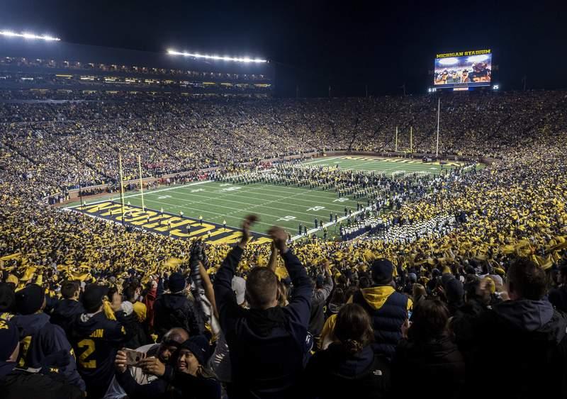 Michigan Stadium in Ann Arbor.
