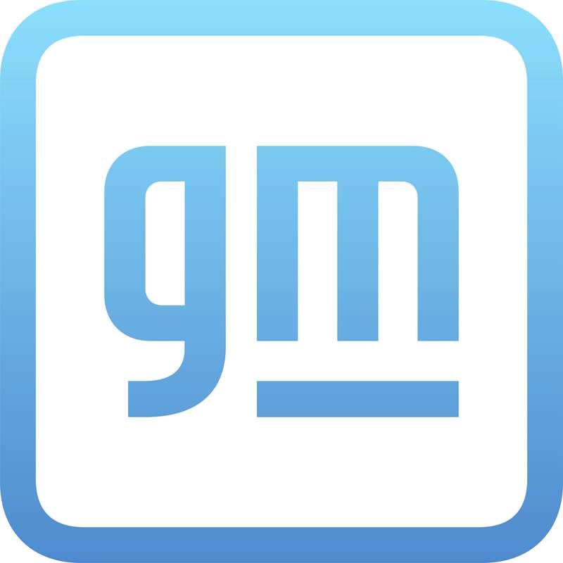 This image provided by General Motors shows the GM Logo.   General Motors says it has signed a deal, Tuesday, June 15, 2021,  to develop railroad locomotives powered by a hydrogen fuel cell and battery system. GM and locomotive maker Wabtec Corp. signed a nonbinding agreement to use GM battery and hydrogen technology to help railroads cut carbon emissions.   (General Motors via AP)