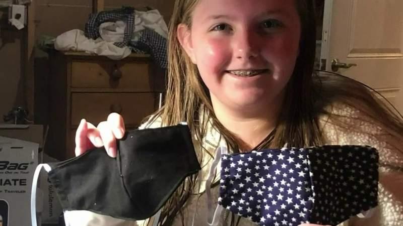 Fashion designer teaches Metro Detroit children how to sew masks to fight coronavirus (COVID-19)