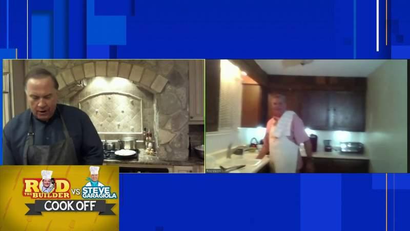 Rod the Builder vs. Steve Garagiola in classic Italian cook-off, 5 p.m.