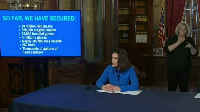 'We have reached a critical time' -- Gov. Whitmer requests federal disaster declaration