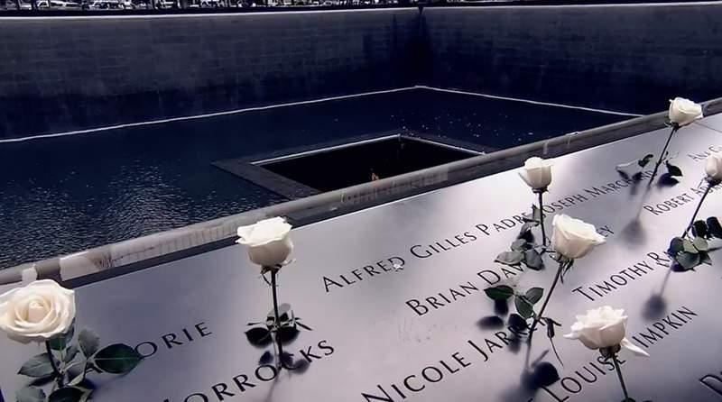 NYC Ground Zero memorial