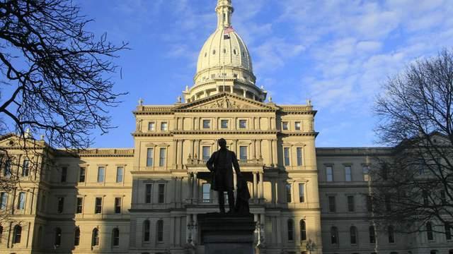 Capitol building in Lansing, Michigan.  (AP Photo/Carlos Osorio, File)