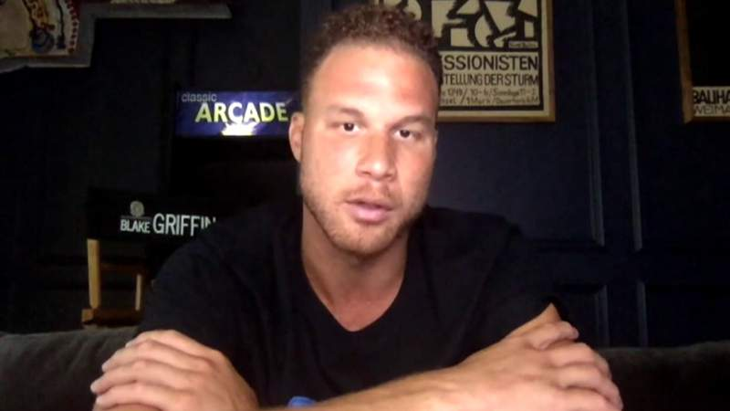Blake Griffin on status, support of Black Lives Matter movement