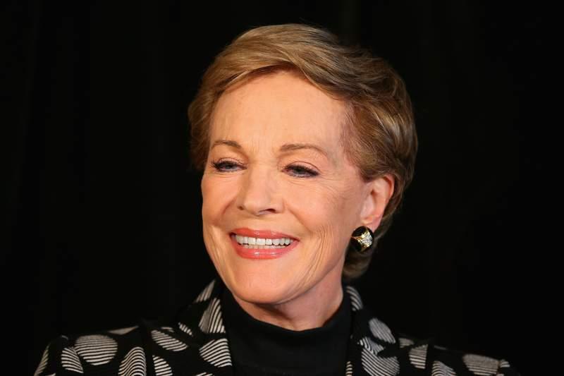 Actress Julie Andrews