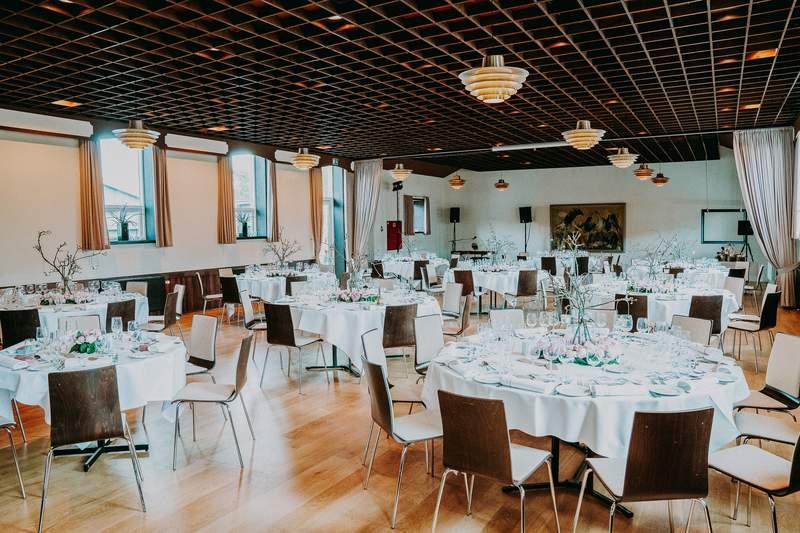 A banquet hall.