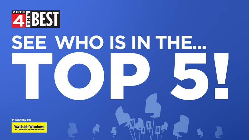 Vote 4 The Best - See who is in the Top 5