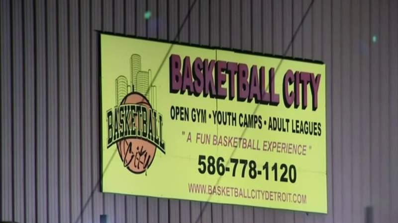 Basketball City in Roseville